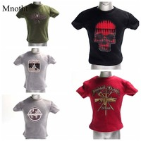 Luckytoy Fashion Men T Shirt Design Painting Vest For 1 6 Solider Doll Model Accessories L50