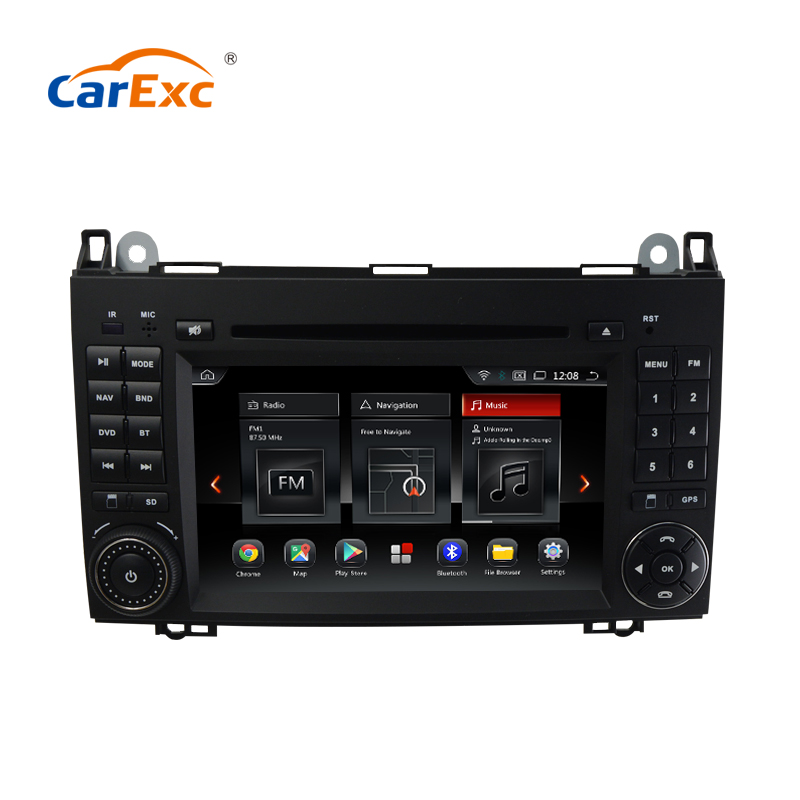 Android 9.0 Octa Cores Two Din Car DVD Player Stereo System For <font><b>Mercedes</b></font> Benz B200 Sprinter B-class <font><b>B170</b></font> <font><b>W245</b></font> W169 W209 WIFI image