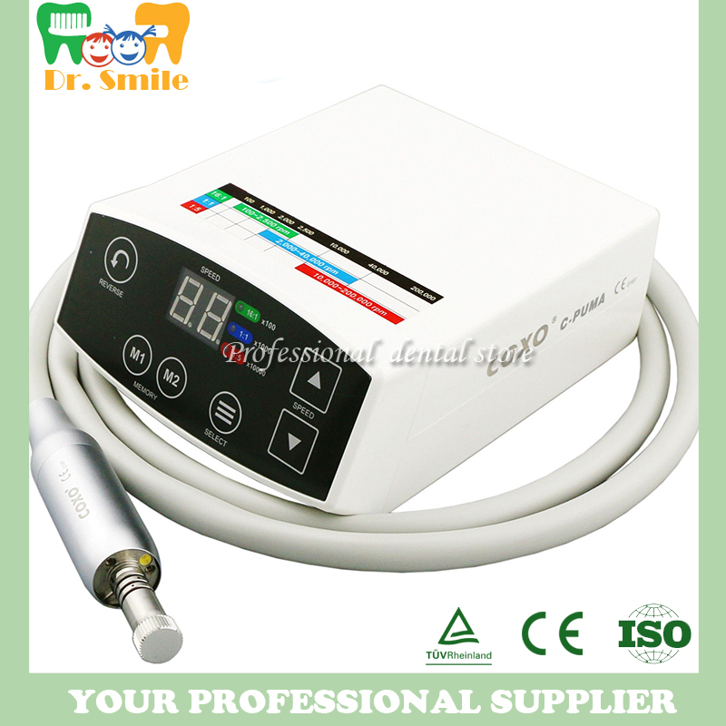Dental LED Brushless Mini Electric micro motor System C PUMA New Arrival electrical micromotor