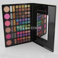 78 Colors Eyeshadow Palette Makeup Set 72 Color Eye shadow + 6 Blusher Natural