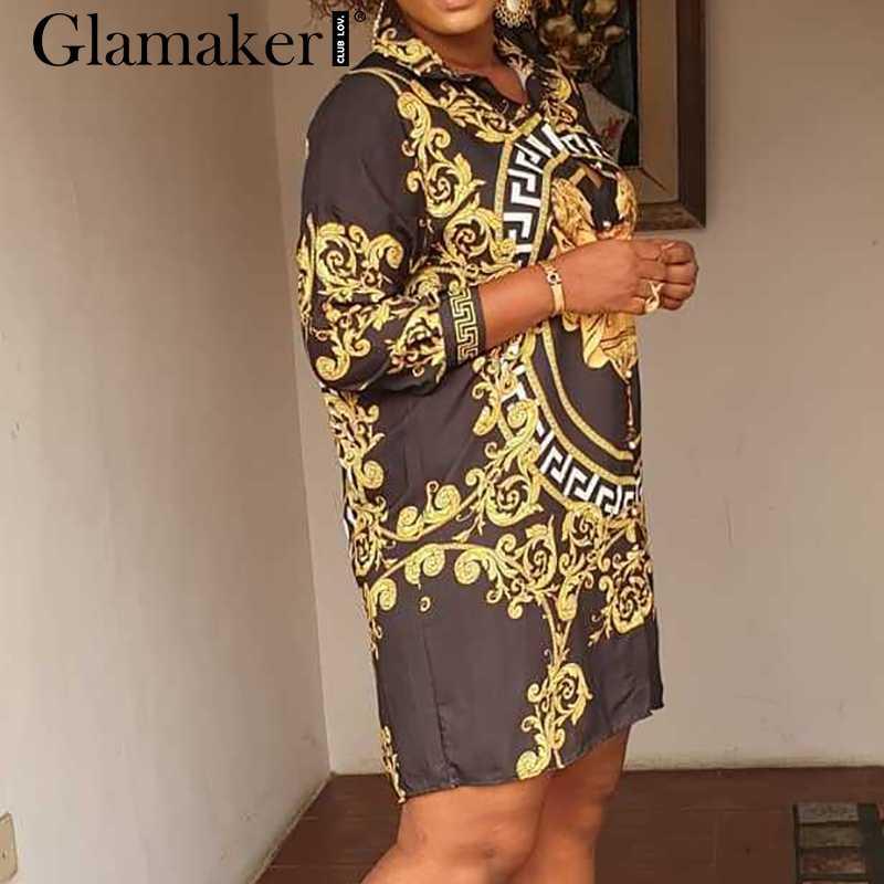 Glamaker плюс размер сексуальное облегающее короткое платье женское летнее винтажное платье элегантное, миди с длинным рукавом Вечерние Клубные рубашки платье