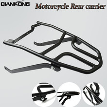 FOR YAMAHA AEROX155 NVX155 Motorcycle Steel Rack Shelf Bar Rear Carrier Luggage Rack Carrier Fender Top Mount Support New motorcycle accessories rear fender rack support shelf luggage carrier rack fit for yamaha xt250 serow 1985 2005