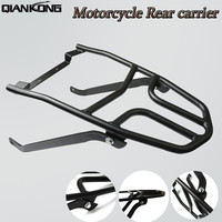 FOR YAMAHA AEROX155 NVX155 Motorcycle Steel Rack Shelf Bar Rear Carrier Luggage Rack Carrier Fender Top Mount Support New
