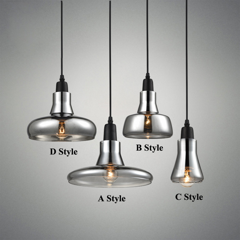 Modern smoke gray glass pendant lights for restaurant special disc modern smoke gray glass pendant lights for restaurant special disc design pendant lamp lustres e pendentes mozeypictures Gallery
