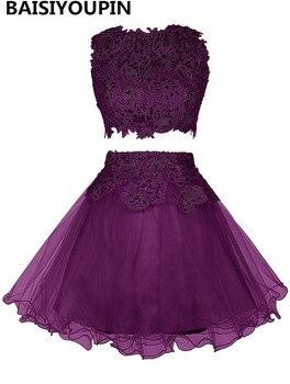 15 dresses year short dresses 2016 vestido formatura curto sexy two piece short white homecoming dresses.jpg 350x350