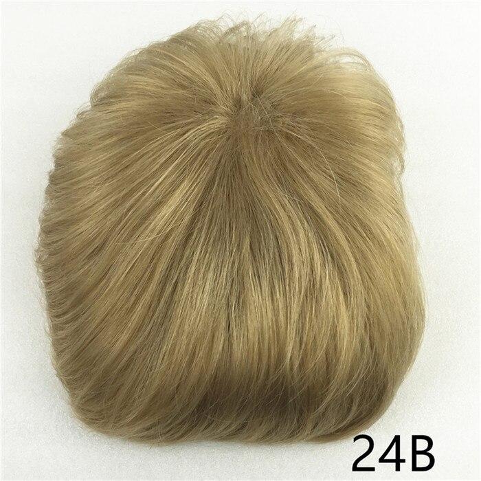 Сильная красота парик синтетические волосы парик выпадение волос топ кусок парики 36 цветов на выбор - Цвет: Блондинка