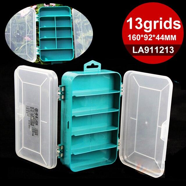 Laoa 2 Stuks Pp Opbergdoos Doorzichtige Plastic Dozen Voor Opslag Sieraden Tool Kit Gereedschap Case Voor Accessoires