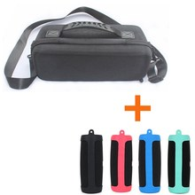 2019 New 2 in 1 EVA Hard Travel Bag+ Soft Silicone Case Cover for JBL Charge 4 Bluetooth Speaker For Charge4 Column
