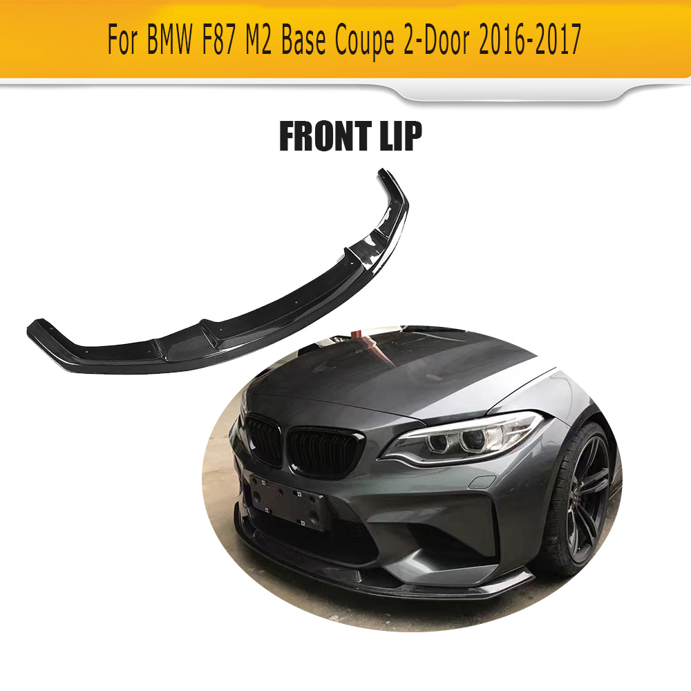 Carbon Fiber Front bumper lip spoiler Chin for BMW F87 M2 Coupe 2 Door Only 2016 2017 Car Tuning Parts-in Bumpers from Automobiles \u0026 Motorcycles on ...