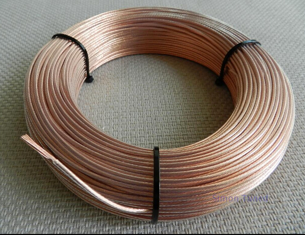 10meter 6n occ signal single crystal copper wire cable diameter 2 5 rh aliexpress com Do It Yourself Electrical Wiring Copper Wire