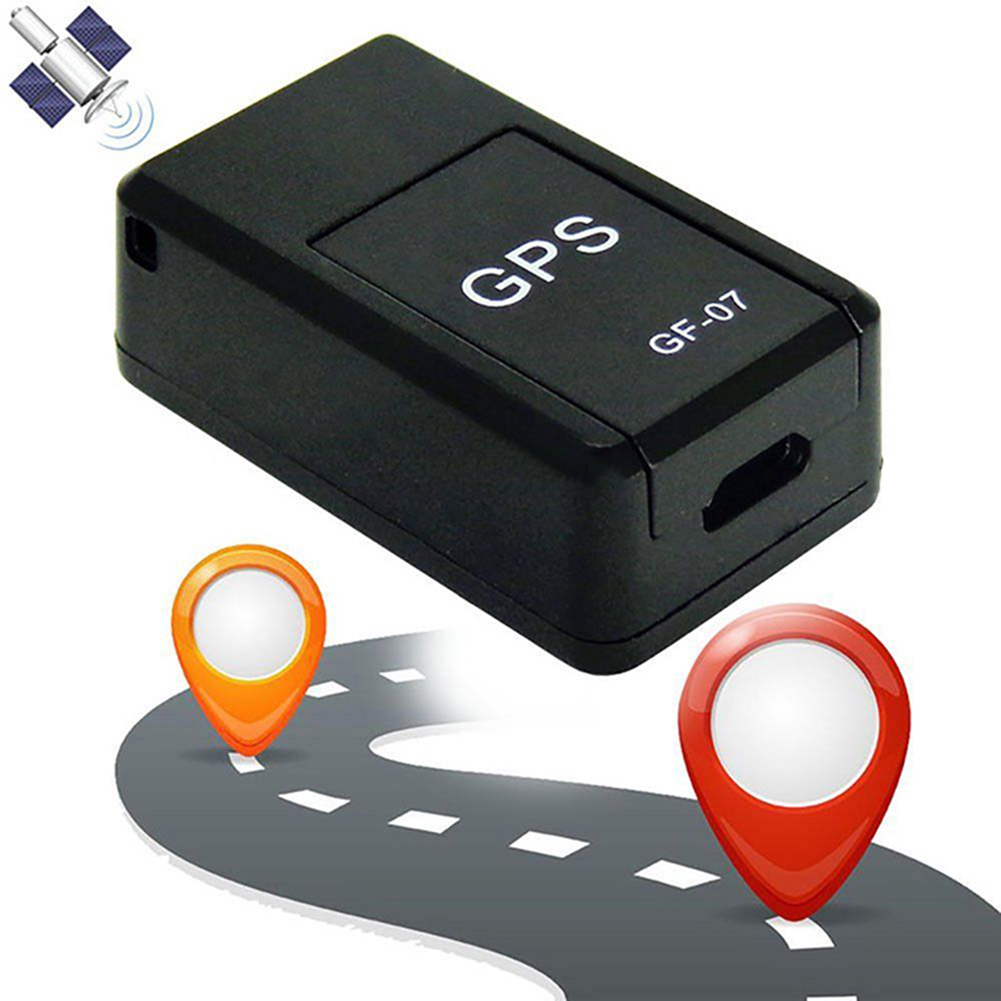 Mini GF07 Anti-Lost Tracking Device Locator Tracker Strong Magnetic Smart GPS Tracker Real-time GSM GPRS For Cars Children Older(China)