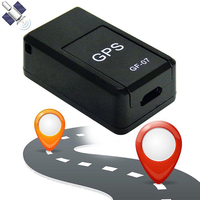 جهاز تتبع صغير GF07 لمنع الفقدان جهاز تعقب قوي مغناطيسي ذكي GPS المقتفي في الوقت الحقيقي GSM GPRS للسيارات|أجهزة تحديد المواقع|   -
