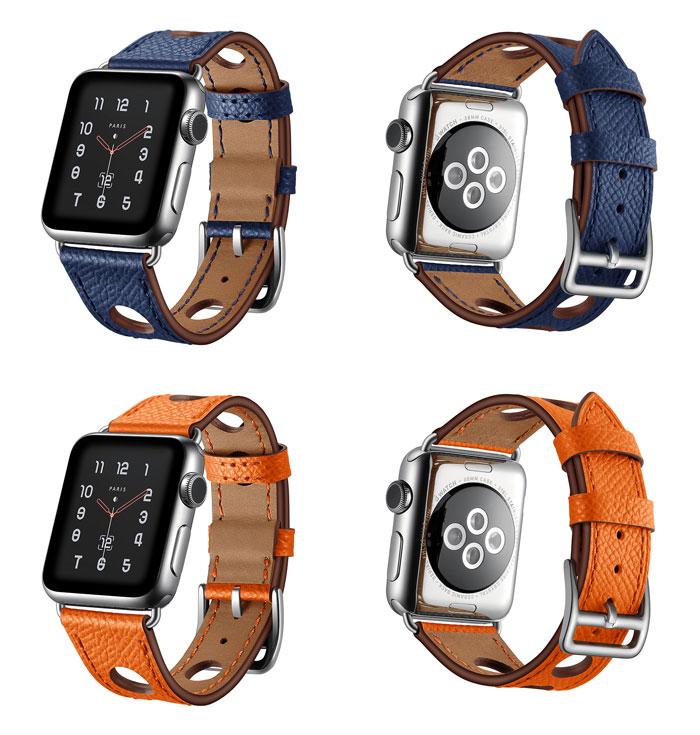 Bracelet cuir Apple Watch Séries 1, 2, 3 et 4
