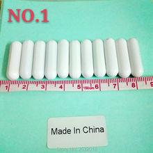 C7x25mm Magnetic Stir Bar PTFE Plain Stirring Bars without Pivot Ring white Teflon Spinbars , Pack of 10!
