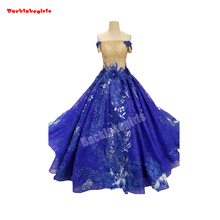 35454 Sequin Beading Ball Gown Prom Dress Party Dress