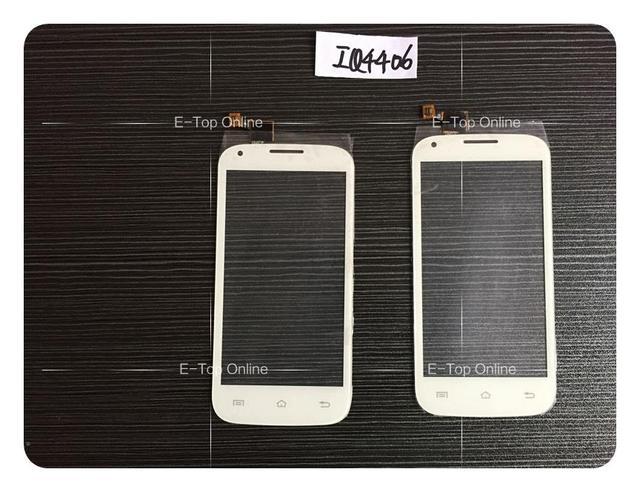 Sensor de preto/Branco Para FLY IQ4406 4406 Tela de Toque Digitador Da Tela + 3 M Adesivo + Rastreamento gratuito