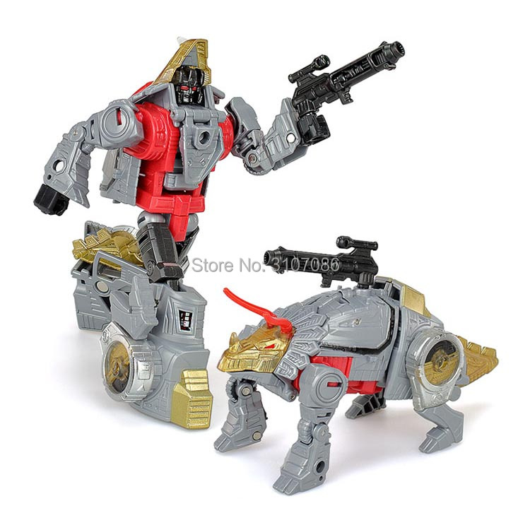 Image 4 - G1 BPF Transformation Dinoking Volcanicus Grimlock Slag Sludge Snarl Swoop slash Dinobots 5IN1 Action Figure Robot Toys-in Action & Toy Figures from Toys & Hobbies