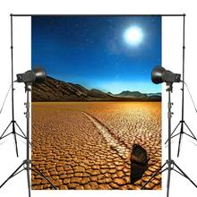 150x210cm Move the Stone Photography Background Wallpapers Nature Mountain River Studio Backdrops