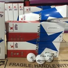12 balls WholeSale XUSHAOFA 40+ New Material Seamless PP BallTable Tennis ball / ping pong ball 2 boxes/lot 12pcs