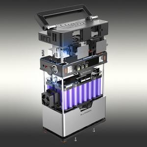 Image 5 - ALLPOWERS 110V 220V Power Bank Portable Power Station Lithium Portable Generator 372Wh Emergency Backup Power UPS Power