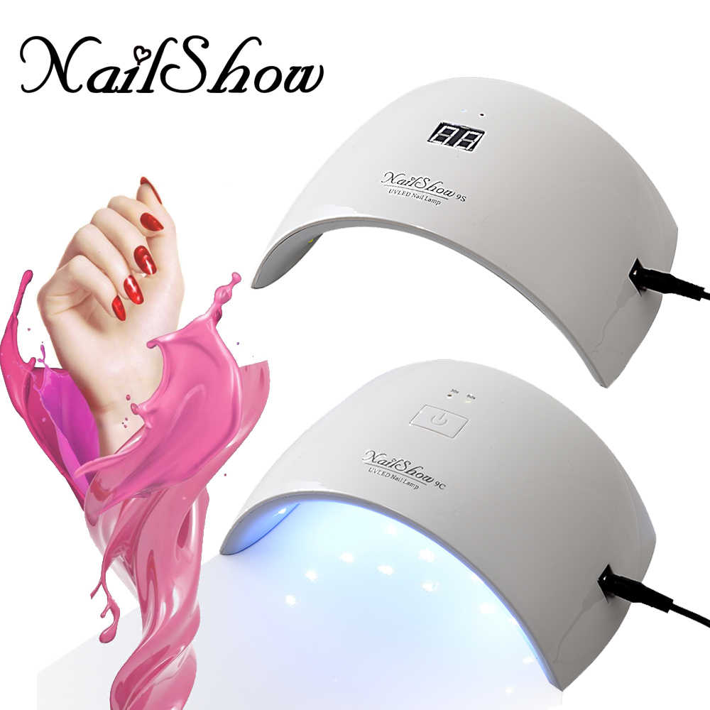 NailShow SUN 9S/9C LED Gel Polish Lamp Nail Dryer Manicure Machine UV Lamp For Nails  Quickly Dryer Tool Nail Gel Curing Lamps