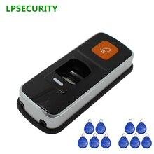 Отпечатков пальцев+ RFID ID Card Reader система контроля доступа посещаемости с дополнительными 10 штук ключевые метки