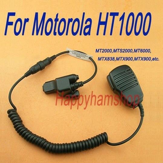 RADIO SPEAKER MIC REMOTE FOR MOTOROLA HT1000 EF Johnson 5100/5700 Series 511X 512X 518X