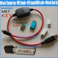 2018 New Original Miracle Thunder key+ MRT dongle +GPG xiaomi9008 cable +Miracle Boot Jig Free Shipping