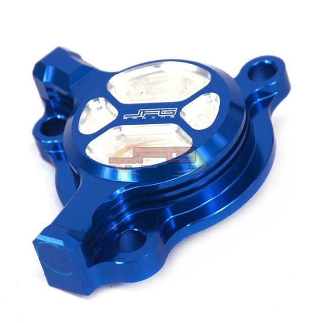 CNC Billet Oil Filter Cap Cover For YZ250F 03-13 WR250F 03-14 YZ450F 03-09 WR450F 03-15 Dirt bike Off Road Motocross Enduro
