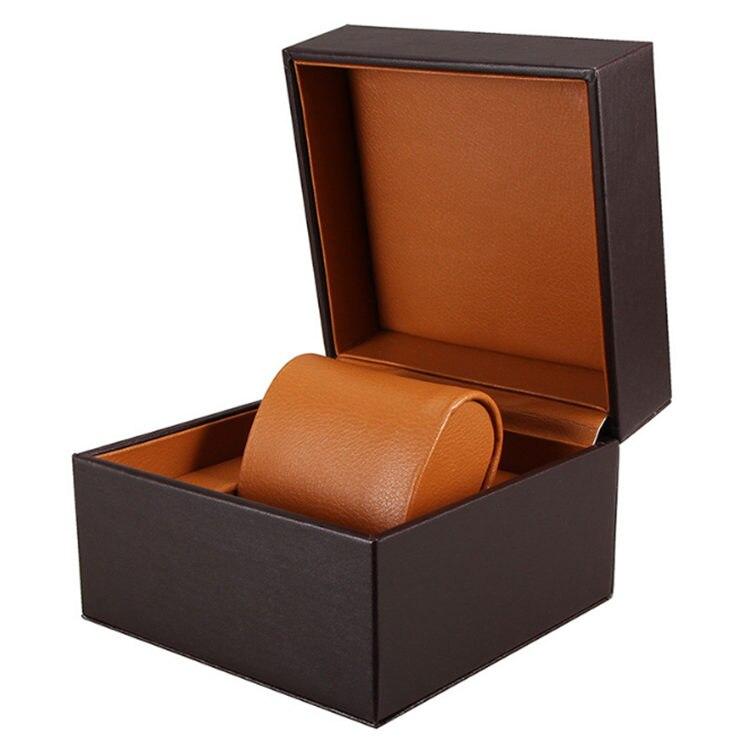 Única de Madeira Caixa de Armazenamento do Relógio dos Homens Pacote de Armazenamento de Jóias de Madeira Caixa de Exposição para Mulheres Preto Organizador Novo W020