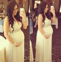 Линия повседневное свадебное платье для беременных женщин Свадебный платья C57