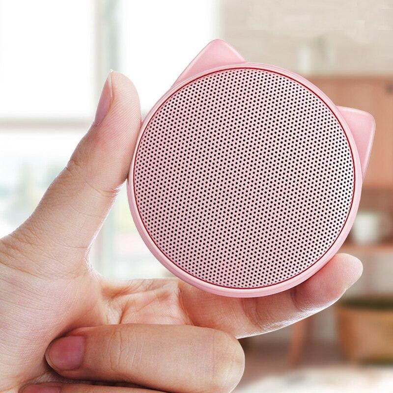 KHH Wireless Bluetooth Speaker mini portable speaker Stereo music Cute girl creative Outdoor Handfree Speaker For Phone