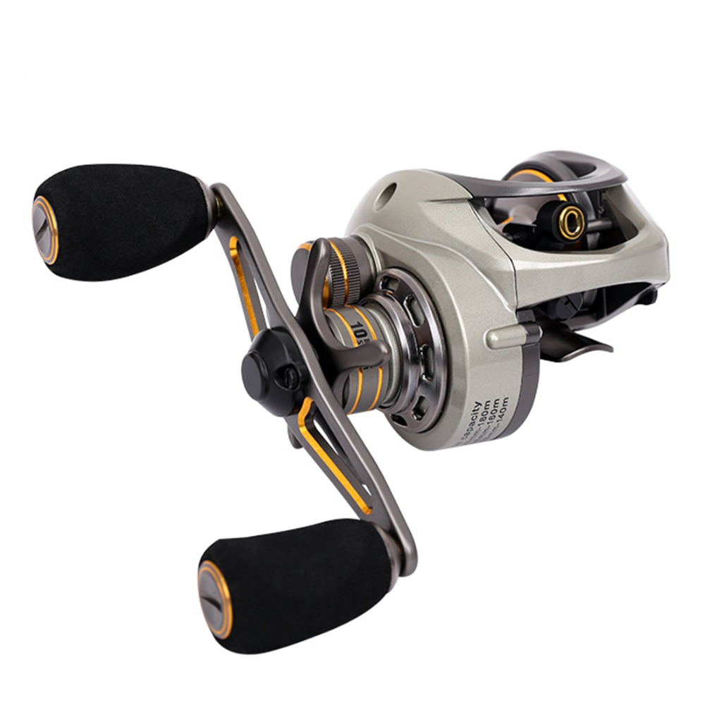 2017 Fishing Reel CK150 Baitcasting  6.6: 1 9 + BB 190g Magnet and Centrifuge Dual Max Brake System Slip 6 kg Right / Left hand nunatak original 2017 baitcasting fishing reel t3 mx 1016sh 5 0kg 6 1bb 7 1 1 right hand casting fishing reels saltwater wheel
