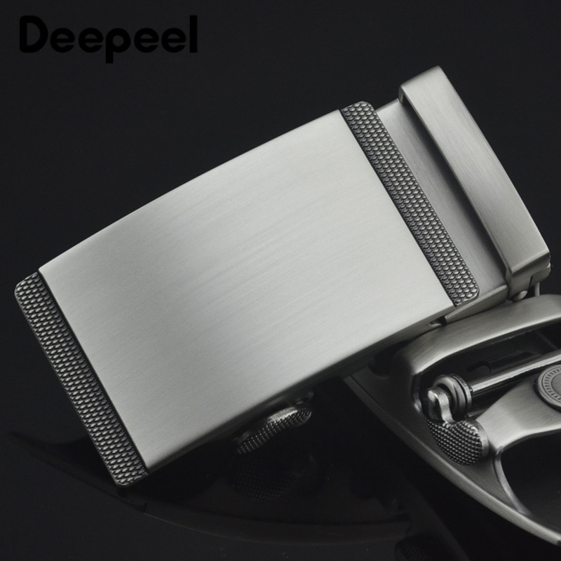 Fashion Metal Belt Buckles Business Men Automatic Buckle For Belt Width 3.4-3.5CM DIY Leathercraft Hardware Jeans Accessories
