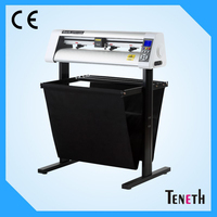 High Performance Vinyl Cutting Plotter Machine With Contour Cut Low Noise 730MM