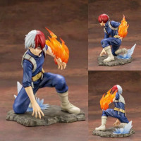 New Super Hero Comic Anime Statue My Hero Academia Boku no Hero Tomy ARTFX J Shoto Todoroki Figure Model Toys