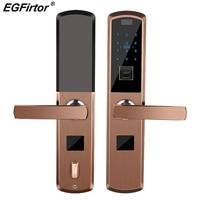 Digital Smart Fingerprint Lock Electronic Door Lock For Home Security Anti theft Intelligent Lock Combination Password Rfid Card