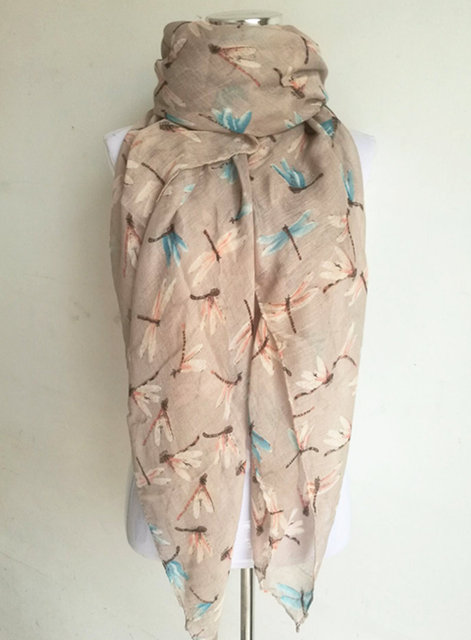 Dragonfly Lady Scarves | Lightweight Scarves