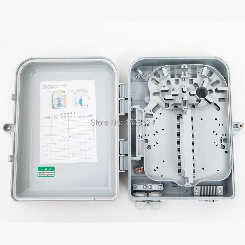 FTTH Outdoor 1*16 FTTH Box 16 Core Distribution Box 1*16 LGX PLC Splitter Fiber Optic Terminal Box 16 Core Fiber Termination Box