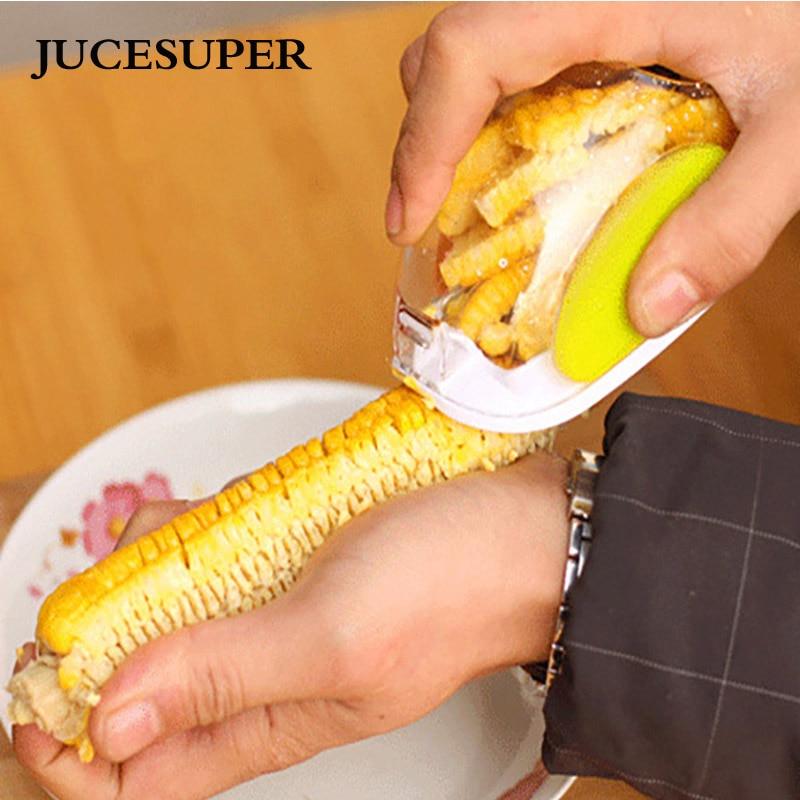 Accesorios de cocina Gadgets Herramienta Corn Cob Kerneler Grano de Trilladora S