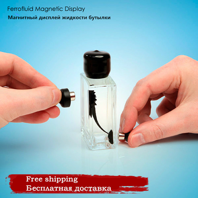 Magnetic Fluid Display Bottle Vent Decompression Educational Toys Office Colleagues And Friends To Send Birthday Gift Ideas