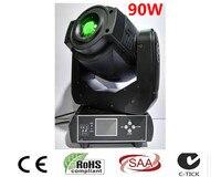 Trasporto Libero New Hot vendita 90 W LED Spot Moving Head Light/USA Luminums 90 W LED DJ Luce del punto