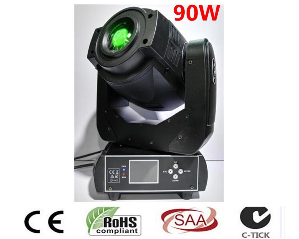 Trasporto Libero Nuovo Caldo-vendita 90 w LED Spot Luce In Movimento Testa/USA Luminums 90 w LED DJ luce del punto