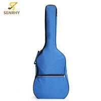 Senrhy Acoustic Hard Case Padded Waterproof 4 4 Electric Guitar Case Bag Classical Folk Waterproof Guitar