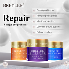 BREYLEE 20g Eyes Serum Hyaluronic Acid Moisturizing cream  Vitamin C Whitening Ageless Retinol Anti Wrinkle Firming Skin Care