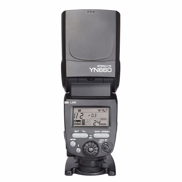 YONGNUO YN660 2.4GHz Flash Speedlite Wireless Transceiver Integrated for Canon Nikon Pentax Olympus DSLR Cameras mukhzeer mohamad shahimin and kang nan khor integrated waveguide for biosensor application