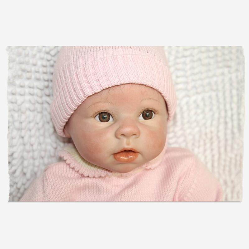 55CM Silicone Reborn Babies Realistic Doll kids Playmate Gift For Girls Baby Alive Soft Toys For Bouquets Juguetes Kids Gift 57cm full silicone shower doll reborn baby boy doll kids playmate gift handmade lifelike bebe juguetes babies toys for bouquets