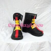 Magical Girl Lyrical Nanoha Teana Lanster Cosplay Shoes Boots Hand Made Custom Made For Halloween Christmas