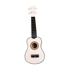 SOACH High quality professional musical instruments children guitar toys 21 vocal 4 strings white bass guitar puzzle toy musical