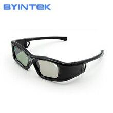 BYINTEK luksusowy aktywny DLP Link migawki 3D szkło GL410 dla BYINTEK DLP 3D projektor UFO U50 U30 R19 R15 P12